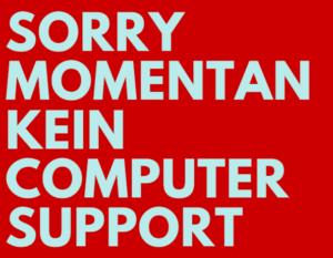 support nein